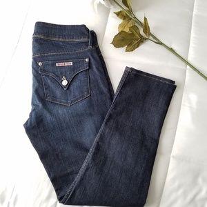 Hudson Collin Flap Crop Skinny Jeans   Size 28